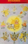 Contes indiens des divinités planétaires (Navagrahas)