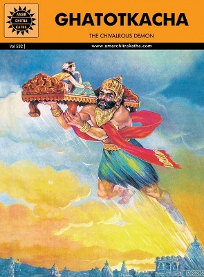 ACK - EPICS & MYTHOLOGY - #592 - Ghatotkacha [English]