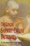 [Sanskrit] Concise Sanskrit-English Dictionary (par APTE)